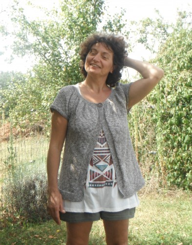 Tricot, recyclage, gilet